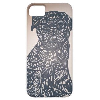 Zendoodle pug iPhone SE/5/5s case