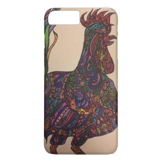 Zendoodle rooster iPhone 8 plus/7 plus case