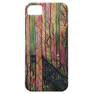 Zendoodle shades of wood. iPhone SE/5/5s case