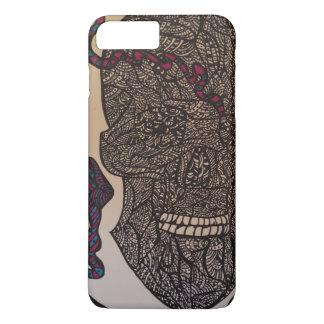 Zendoodle skull/snake iPhone 8 plus/7 plus case