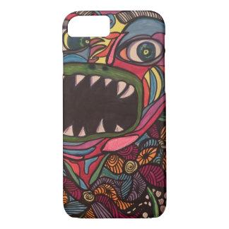 Zendoodle swamp monster iPhone 8/7 case