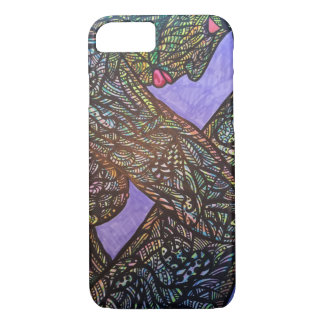Zendoodle trapped iPhone 8/7 case