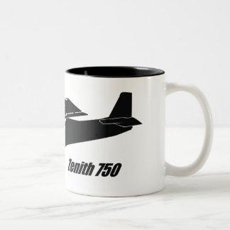 Zenith 750 STOL Two-Tone Coffee Mug