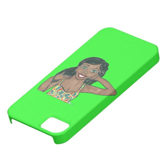 Zenith is on top of her Game iPhone SE/5/5s Case