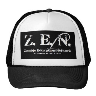 Zenlogo black Trucker Mesh Hat