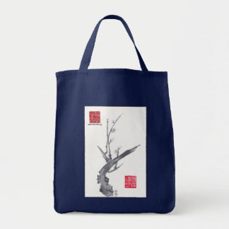 "ZenNature ""Still Blooming"" SumiSack Tote Bag"