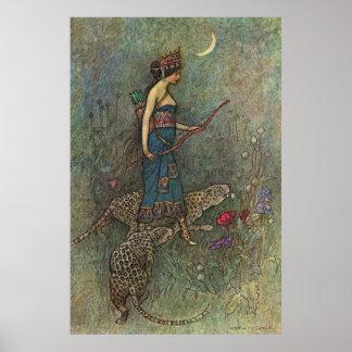 Zenobia Queen of Palmyria Poster