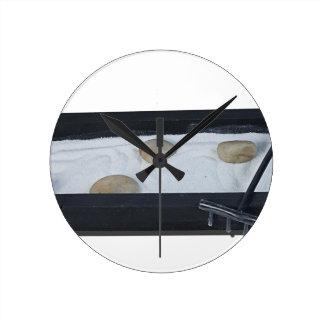 ZenSandGarden011815 Round Clock
