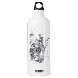 Zentangle Bunny Rabbit SIGG Traveler 1.0L Water Bottle