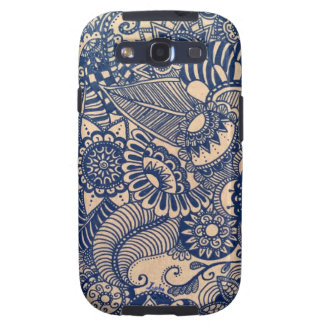 Zentangle style cases for Samsung s3 Galaxy S3 Covers