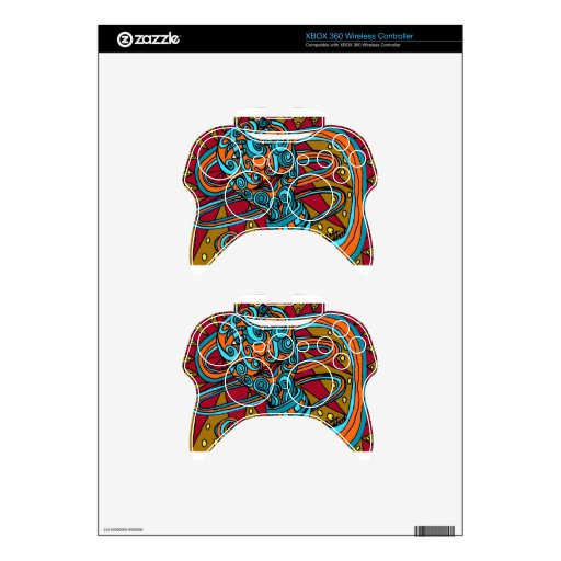 Xbox Tattoo Ideas: Tattoo Worm Xbox 360 Controller Skin
