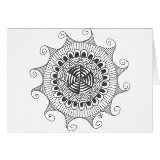 zentnagle mandala - lines cards