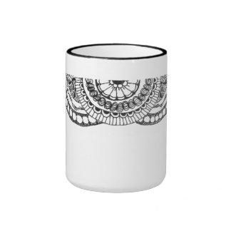 zentnagle mandalas - bubbles and lines mugs