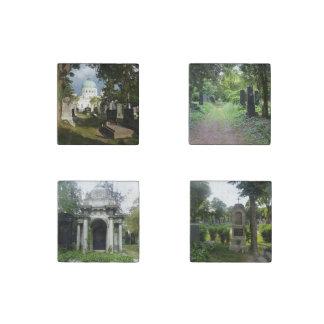 Zentralfriedhof Set Stone Magnet