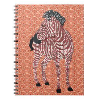 Zenya Orange Notebook
