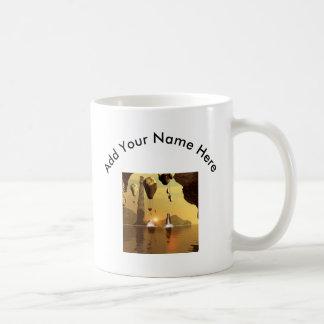 Zepelín impresionante taza de café
