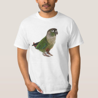 Zeph (green cheek conure) - Mens Tshirt