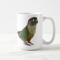 Zeph (green cheek conure) - Mug