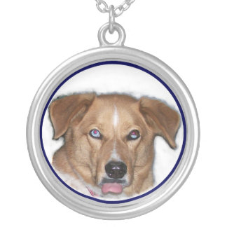 Zeph Sticking Out Tongue Silver Plated Necklace