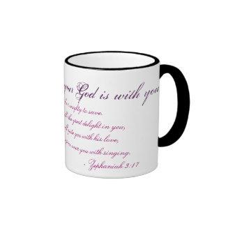 Zephaniah 3:17 ringer mug