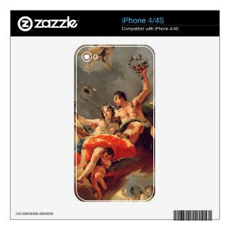 Zephyr and Flora iPhone 4S Decals