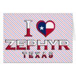 Zephyr, Texas Card