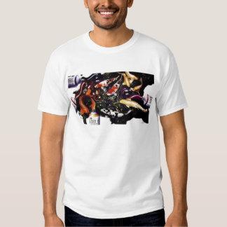 """""""Zephyr's Solace"""" Coy Fish & Paint Watercolor T Shirt"""