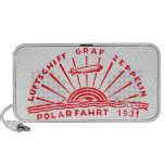 Zeppelin Adventures 1931 Polar Flight iPod Speaker