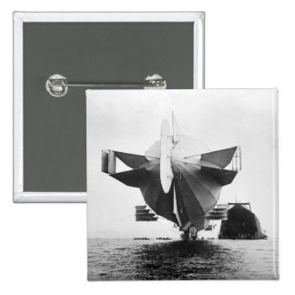 Zeppelin Airship, 1908 Buttons