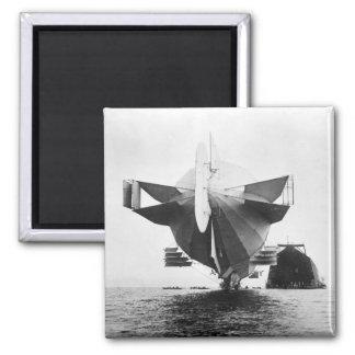 Zeppelin Airship, 1908 Fridge Magnet