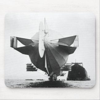 Zeppelin Airship  1908 Mousepad