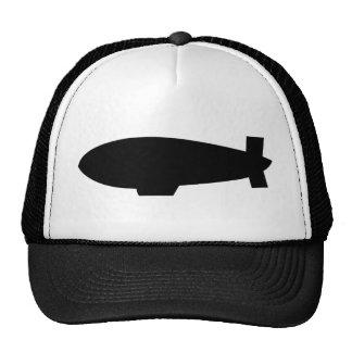 zeppelin airship icon trucker hat