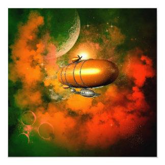 Zeppelin Invitation