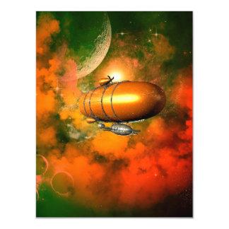 Zeppelin Magnetic Invitations