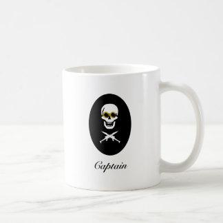 Zeppelin Pirate Captain Coffee Mug