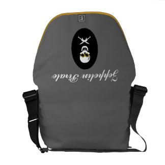 Zeppelin Pirate Messenger Bag
