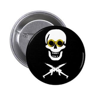 Zeppelin Pirate Pinback Button