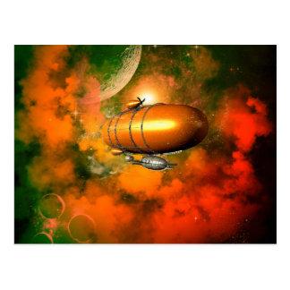 Zeppelin Postcard