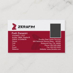 2 sided business cards zazzle zerafim standard 2 sided business card wphoto colourmoves