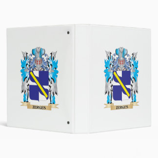 Zerges Coat of Arms - Family Crest Binder