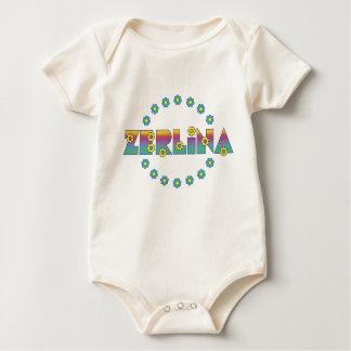 Zerlina de Flores Arco Iris Baby Bodysuit