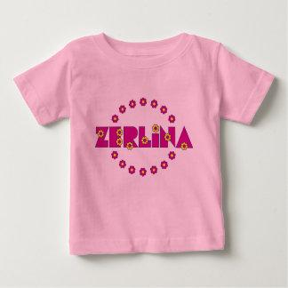 Zerlina de Flores Arco Iris Baby T-Shirt