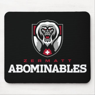 Zermatt Abominables Mouse Pad