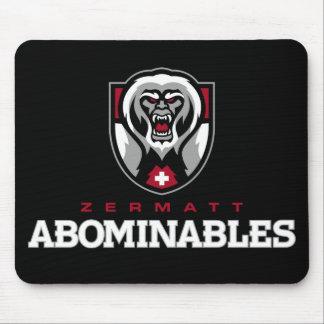 Zermatt Abominables Mouse Pads