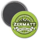 Zermatt Color Logo Refrigerator Magnet