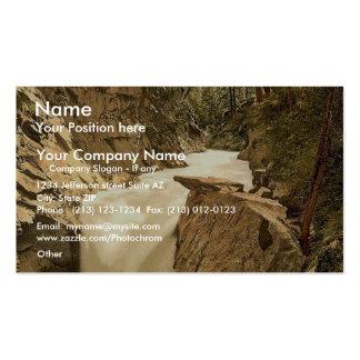 Zermatt Gorner Gorge Valais Alps of Switzerland Business Card Template