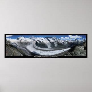 Zermatt Gornergrat, Switzerland Poster