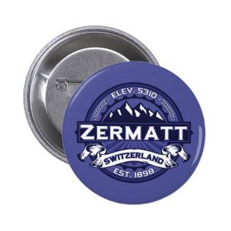 Zermatt Logo Midnight Pin