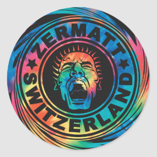 Zermatt Swirl Sticker