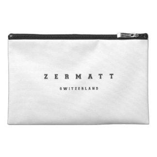 Zermatt Switzerland Travel Accessory Bags